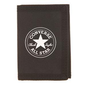 Кошелек  Pro Game Wallet Black Converse. Цвет: черный
