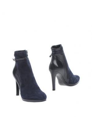 Полусапоги и высокие ботинки ANDREA CATINI. Цвет: темно-синий