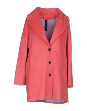 Пальто GUTTHA. Цвет: розовый