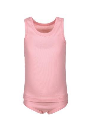 Комплект белья M&DCollection. Цвет: розовый