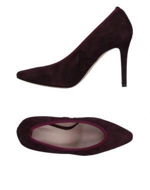 Туфли ANCARANI. Цвет: красно-коричневый
