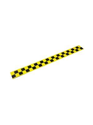 Такси-Магнит Для Притяжения Клиентов, 600Х60, Белый Оранжевый Слоник. Цвет: белый