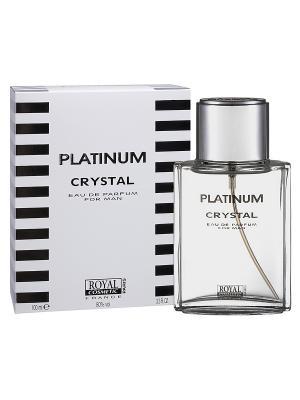 Парфюмерная вода Платинум Кристал (Platinum Crystal) муж. 100мл ROYAL COSMETIC. Цвет: прозрачный
