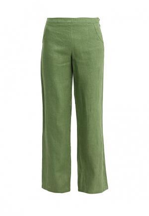 Брюки D.VA. Цвет: зеленый