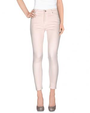 Повседневные брюки AG ADRIANO GOLDSCHMIED. Цвет: розовый