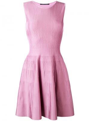 Giglio skater dress Antonino Valenti. Цвет: розовый и фиолетовый