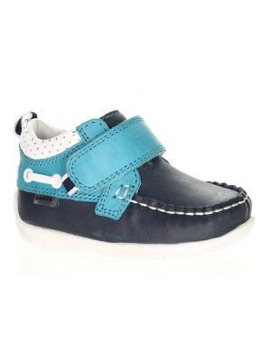 Ботинки Bartek. Цвет: синий, белый