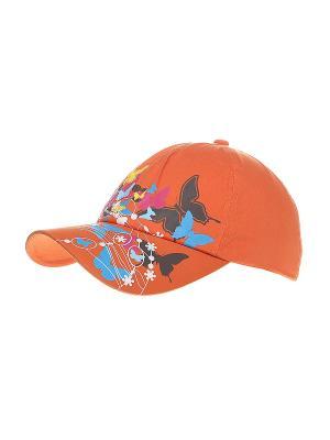 Бейсболка Migura. Цвет: оранжевый, черный, бордовый, голубой