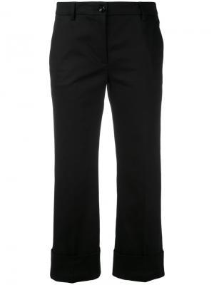Укороченные брюки с подвернутыми манжетами LAutre Chose L'Autre. Цвет: чёрный