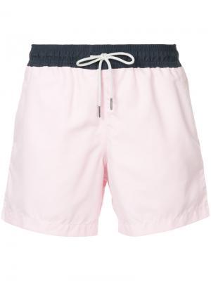Однотонные плавки Venroy. Цвет: розовый и фиолетовый