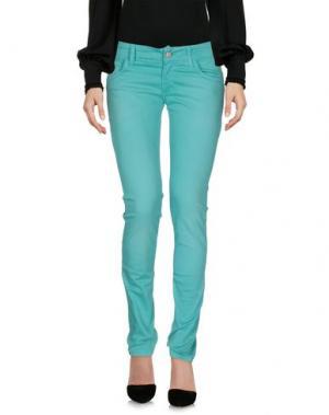 Повседневные брюки JUST FOR YOU. Цвет: изумрудно-зеленый
