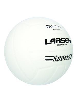 Мяч волейбольный  PU2042 Larsen. Цвет: белый