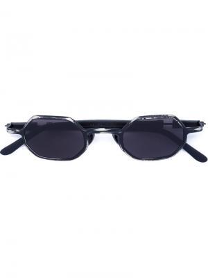 Солнцезащитные очки Mask Z11 Kuboraum. Цвет: чёрный