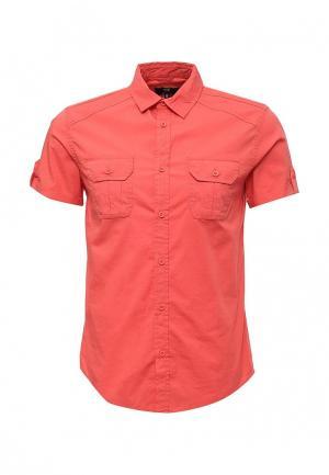 Рубашка oodji. Цвет: коралловый