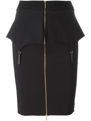 Fold skirt Murmur. Цвет: чёрный