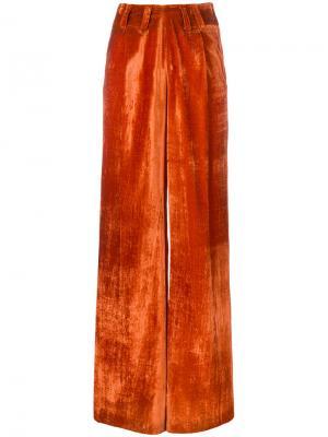 Брюки Piene Damir Doma. Цвет: жёлтый и оранжевый