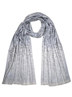 Палантин Zalta. Цвет: серый, серебристый