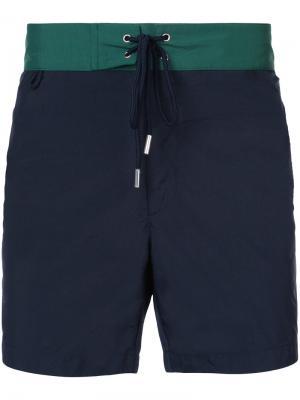 Пляжные шорты Tom Katama. Цвет: синий