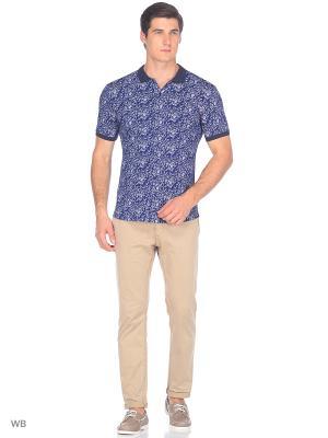 Рубашка JB casual. Цвет: синий