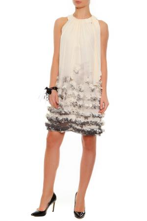 Платье XS MILANO. Цвет: ванильный