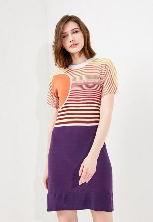 Платье Sonia Rykiel. Цвет: разноцветный