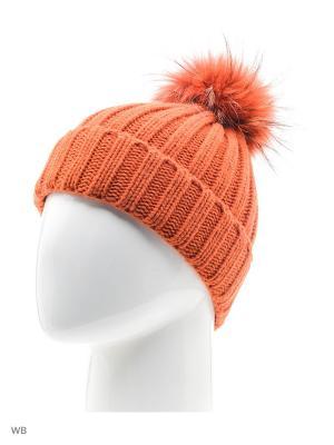 Шапка Marini Silvano.. Цвет: оранжевый