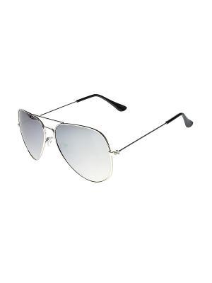 Солнцезащитные очки Infiniti. Цвет: серебристый, серый