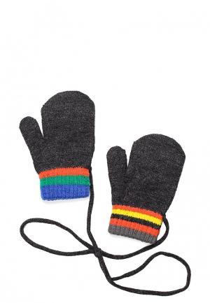 Варежки United Colors of Benetton. Цвет: черный