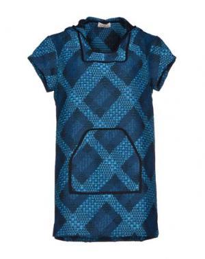 Короткое платье CALLA. Цвет: цвет морской волны