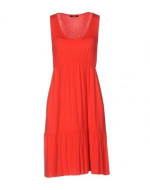 Короткое платье CARLA G.. Цвет: красный