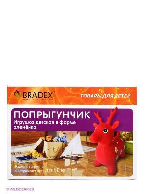 Игрушка, в форме олененка ПОПРЫГУНЧИК BRADEX. Цвет: красный