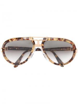 Солнцезащитные очки 642 Cazal. Цвет: коричневый