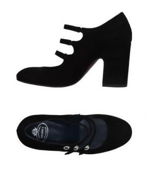 Туфли BRAWN'S. Цвет: черный