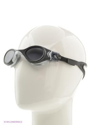 Очки плавательные S45 Larsen. Цвет: черный
