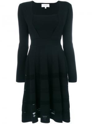 Платье бэби-долл Carven. Цвет: чёрный
