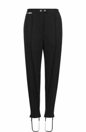 Укороченные шерстяные брюки со штрипками 3.1 Phillip Lim. Цвет: черный