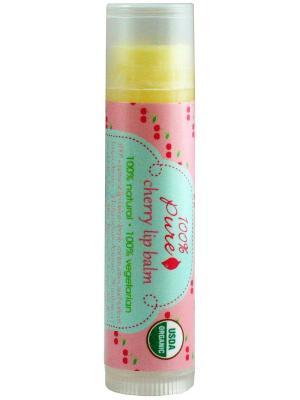 Бальзам для губ Вишня 4,25 гр 100% Pure. Цвет: прозрачный