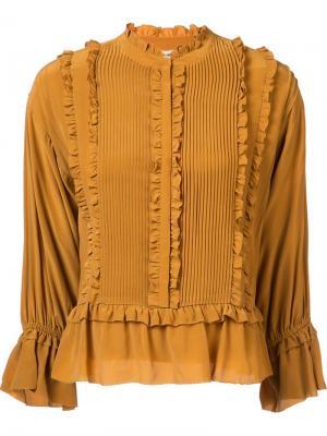 Najda blouse Ulla Johnson. Цвет: жёлтый и оранжевый