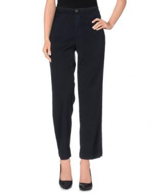 Повседневные брюки E_GO' SONIA DE NISCO. Цвет: темно-синий