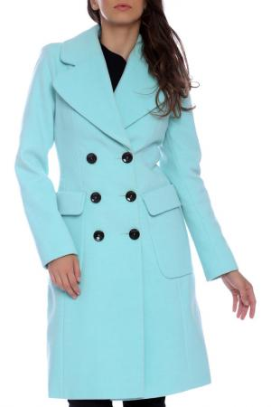 Пальто Emma Monti. Цвет: turquiouse