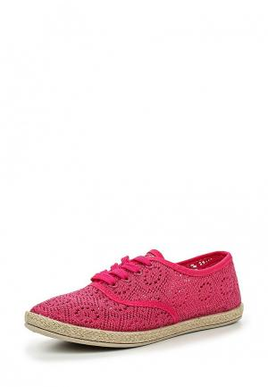 Кеды Sweet Shoes. Цвет: фуксия
