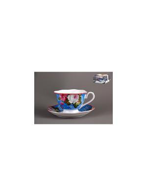 Набор чайный 1/2 Коралл. Цвет: белый