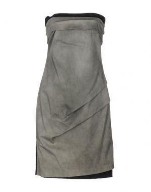 Короткое платье CARLA G.. Цвет: серый