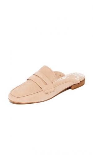 Замшевые туфли без задника Cybil Dolce Vita. Цвет: розовый
