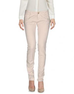 Повседневные брюки LUNATIC. Цвет: бежевый