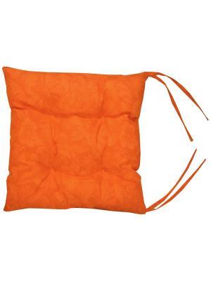 Подушка на стул Lorret Gaudy 43х43 T&I. Цвет: оранжевый
