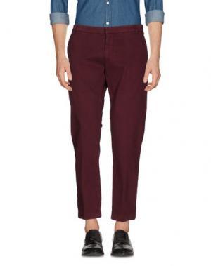 Повседневные брюки GABARDINE. Цвет: пурпурный