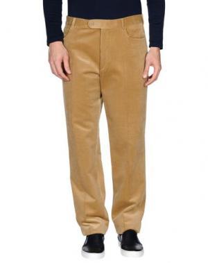 Повседневные брюки EREDI RIDELLI. Цвет: песочный