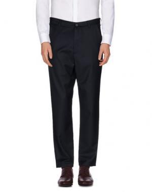 Повседневные брюки 26.7 TWENTYSIXSEVEN. Цвет: темно-синий
