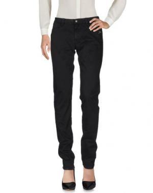 Повседневные брюки 9.2 BY CARLO CHIONNA. Цвет: стальной серый